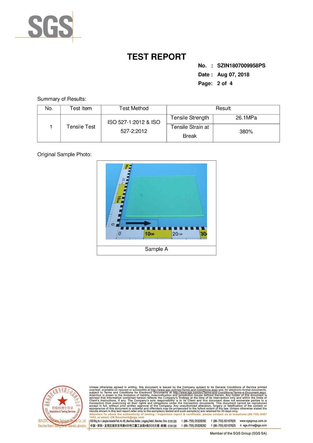 Polyurethane Buffering Pad Polyurethane Board Plastic